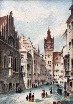 Bierlein, Old Town Hall Tower Nuremberg