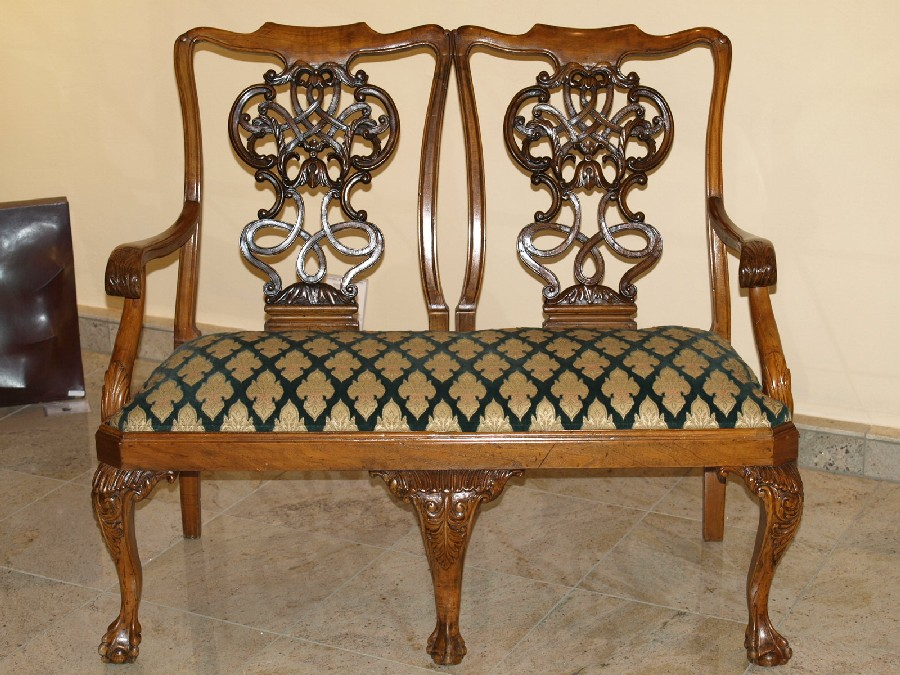 100 Thomas Chippendale Antique Furniture History Porcelain Cabinet Padouk By Thomas