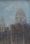 Preview: Unbekannter Impressionist, Saint Paul´s Cathedral und Brooks Wharf