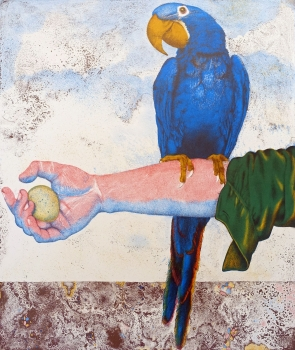 Michael Mathias Prechtl, Parrot, arm & egg