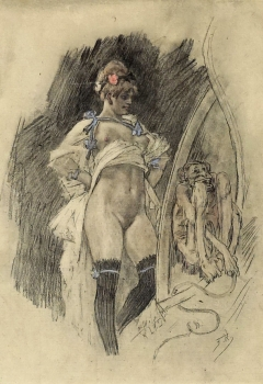 Félicien Rops, Impudence
