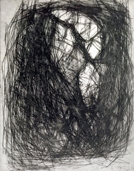 Erich Hauser, abstract etching