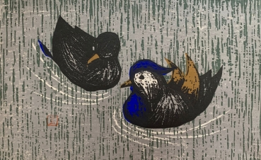 Kaoru Kawano, Ducks on the pond