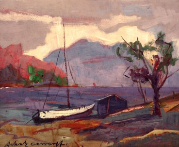 Erwin Shoultz-Carrnoff, Ship at the bay