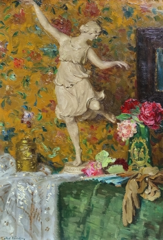 Robert Völcker, Still life with dancer and flowers