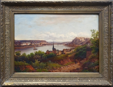 Unknown, View of Koblenz on the Rhine