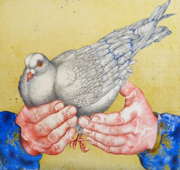 Michael Mathias Prechtl, The pigeon in hand
