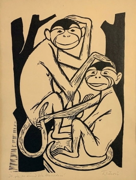 Willi Hertlein, 2 monkeys
