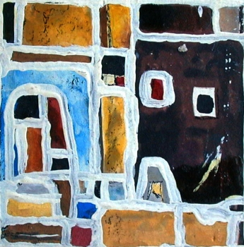 Hans Kern, Abstract houses