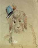 Gudrun Kunstmann, Dog with hat