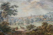 C.F. Müller, View of the City of Baden in the Grand Duchy of Baden