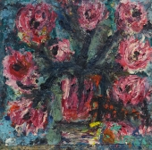Fatima Seidl-Tunovic, Still life with flowers